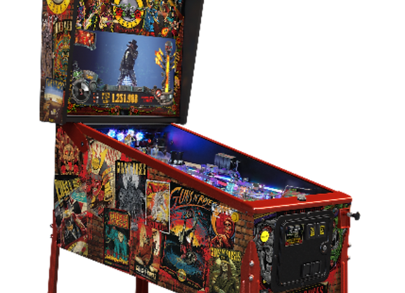 Buy Guns N Roses Limited Edition Pinball Machine by Jersey Jack Online at Orange County Pinballs