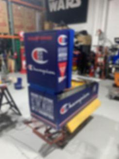 champion hanes custom pinball machine