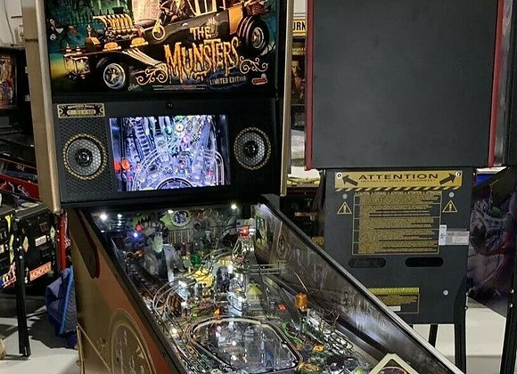 Buy The Munsters Limited Edition Pinball Machine by Stern Online at $10999 | Orange County Pinballs