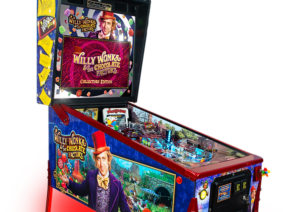 Buy Willy Wonka and the Chocolate Factory pinball machine by Jersey Jack Online at Orange County Pinballs