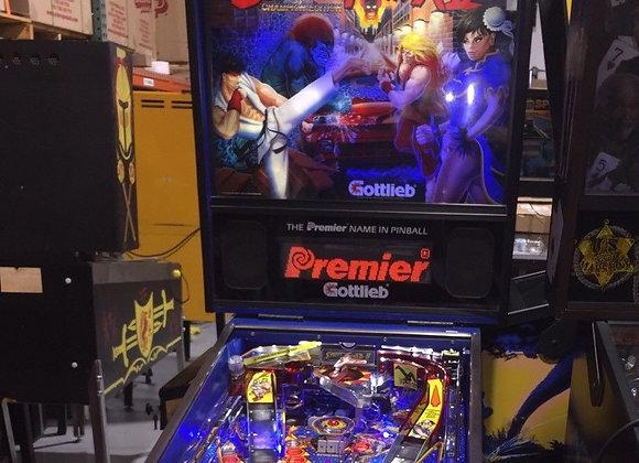 Buy Street Fighter II Pinball Machine Online Orange County Pinballs