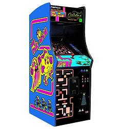 Ms Pac-Man Galaga Class of 1981 Arcade Size at Orange County Pinballs