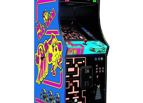 Buy Ms Pac-Man & Galaga Class of 1981 Namco Arcade Machine Online at Orange County Pinballs