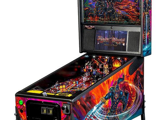 Buy Black Knight: Sword of Rage Premium Pinball Machine by Stern Online $7499 | Orange County Pinballs