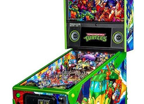 Buy Teenage Mutant Ninja Turtles Limited Edition Pinball Machine by Stern Online at Orange County Pinballs