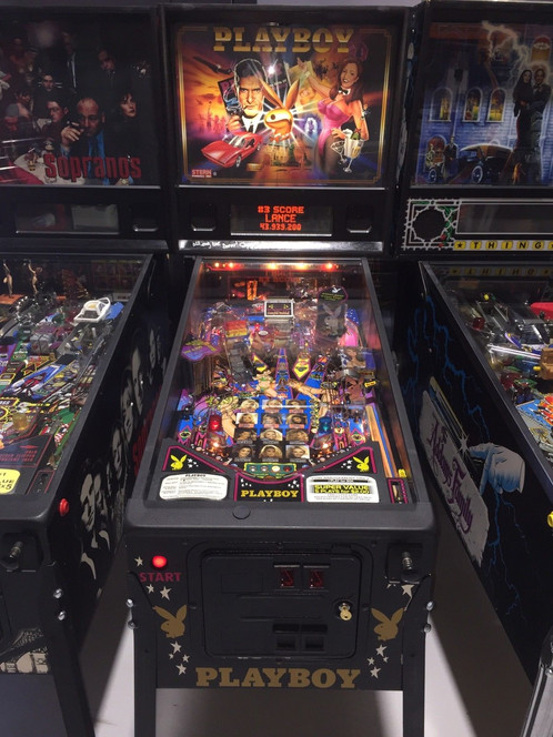 Playboy Pinball Machine By Stern Coin Op Home Use Only Autographed