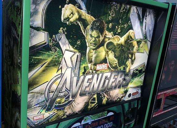 Avengers Limited Edition Pinball Machine Stern ColorDMD Mods Custom 2012 Hulk
