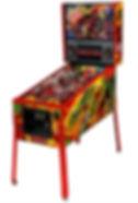 Deadpool Limited Edition Pinball at Orange County Pinballs