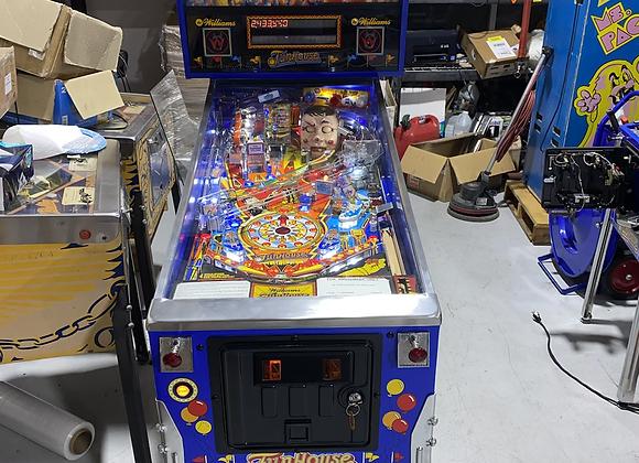Funhouse Pinball Machine by Williams LEDs