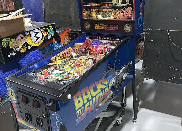 Buy Back To The Future Pinball Machine at Orange County Pinballs
