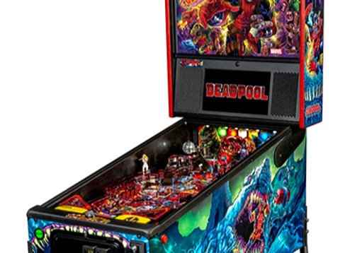 Buy Deadpool Premium Edition Pinball Machine by Stern Online at $7499 | Orange County Pinballs