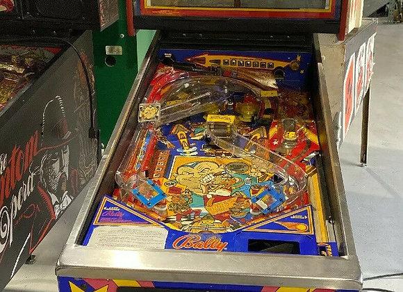 Buy Mousin Around pinball machine by Bally Online at Orange County Pinballs