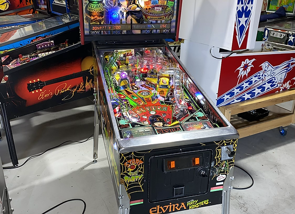 Elvira and the Party Monsters Pinball Bally