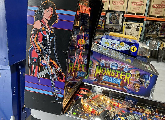 Buy Cybernaut Pinball Machine Bally at Orange County Pinballs