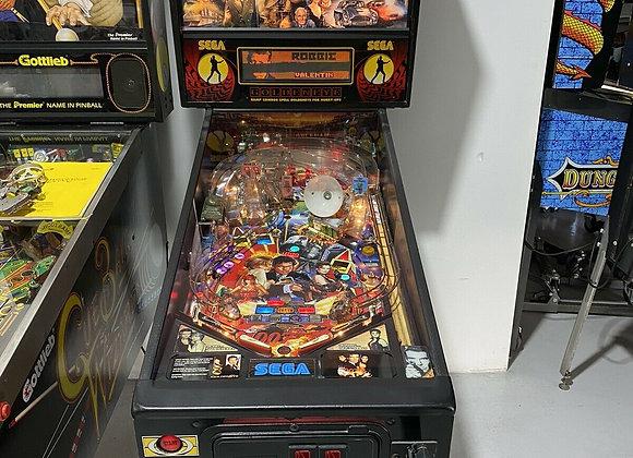Buy Goldeneye 007 Pinball Machine by Sega on sale Online at Orange County Pinballs