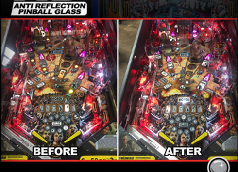 HD Anti-Reflection Pinball Glass Stern Invisiglass | Orange County Pinballs