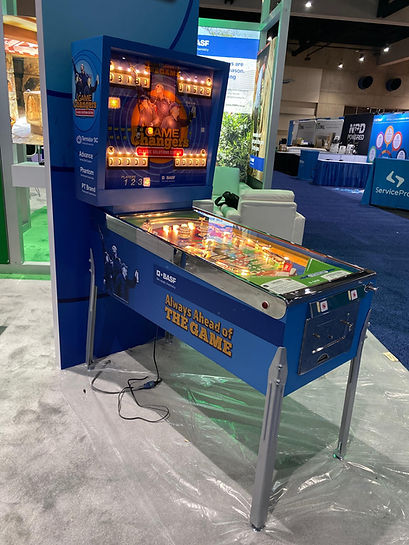 BASF Custom Pinball Machine Pest World 2019