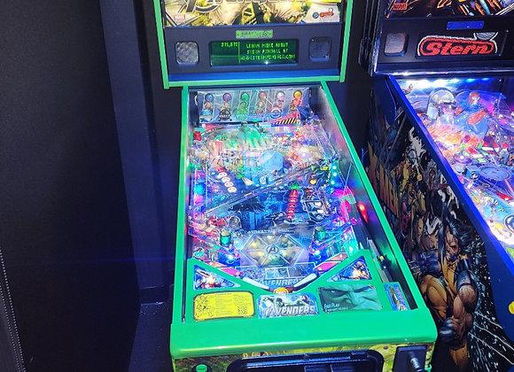 Avengers Limited Edition Hulk Pinball Machine Stern