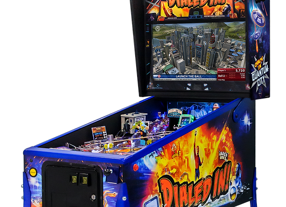 Buy Dialed In! Limited Edition pinball machine by Jersey Jack Online at Orange County Pinballs