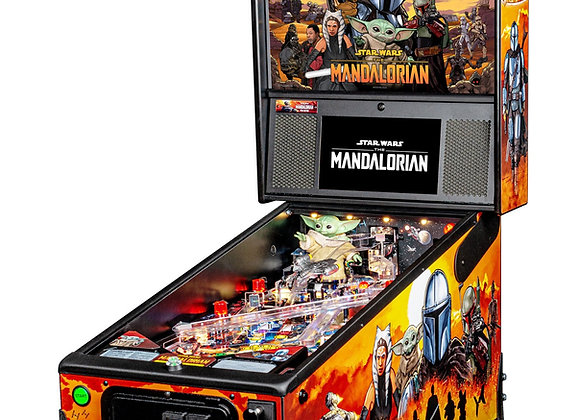 Buy The Mandalorian Pinball by Stern On Sale at Orange County Pinballs