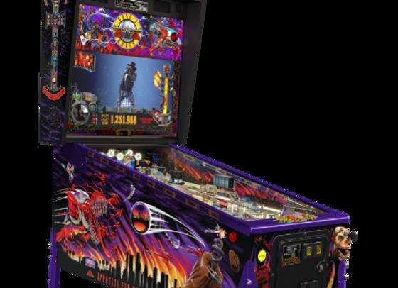 Buy Guns N' Roses Collectors Edition pinball machine by Jersey Jack Pinball Online at Orange County Pinballs