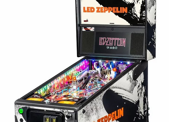 Buy Led Zeppelin Premium Pinball Machine Online at Orange County Pinballs