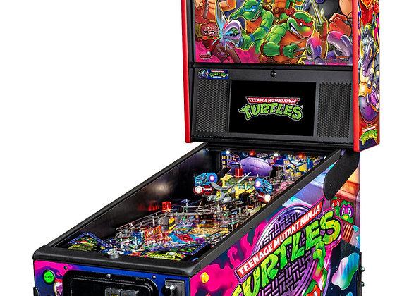 Buy Teenage Mutant Ninja Turtles Premium Edition Pinball Machine by Stern Online at Orange County Pinballs