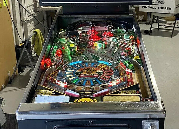 Buy High Speed Pinball Machine Williams Online at Orange County Pinballs