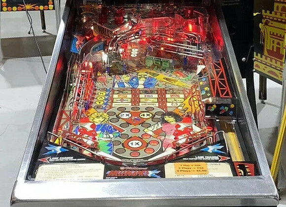 Buy Rollergames Pinball Machine Williams at Orange County Pinballs
