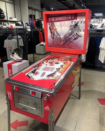 Adidas Ultraboost Pinball Machine | Orange County Pinballs