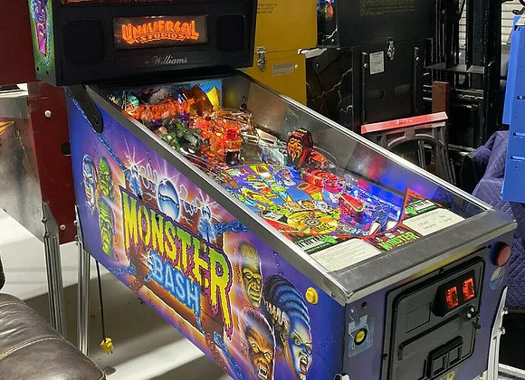 Buy Monster Bash Pinball Machine Williams Coin Op Arcade LEDs at Orange County Pinballs