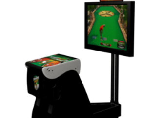 Power Putt Arcade Machine Incredible Technologies | Orange County Pinballs