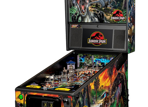 Buy Jurassic Park Premium Edition Pinball Machine by Stern Online $7499 at Orange County Pinballs