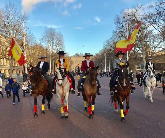 New Years Parade 2019 Team Spain The Mal