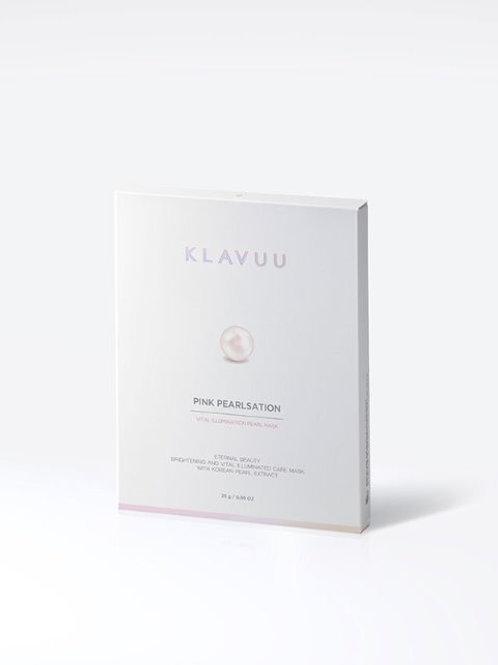 KLAVUU ピンクパールセーションバイタルイルミネーションパールマスク 1枚