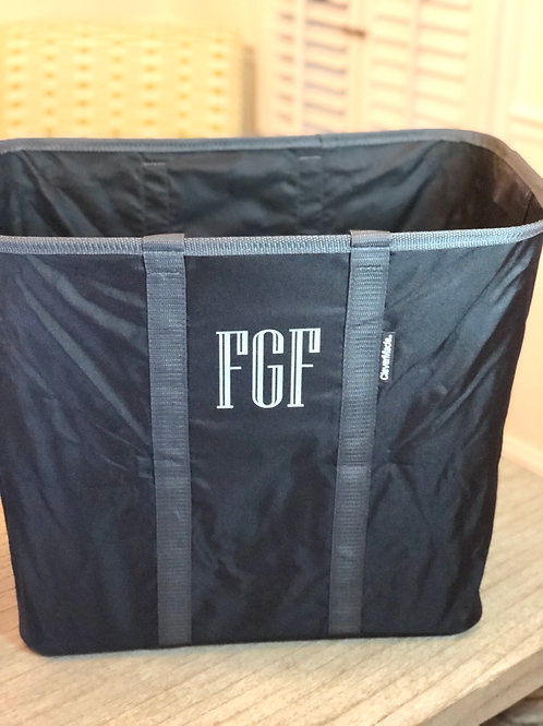 Pop up laundry tote
