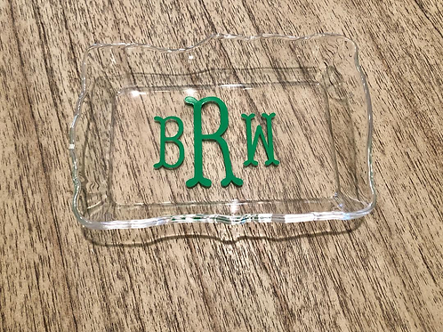 Small personalized dish/ tray