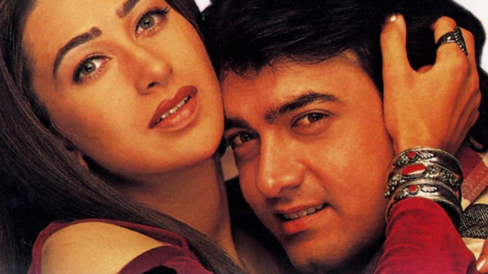 raja hindustani highestgrossingfilm bollywood amir khan karishma kapoor