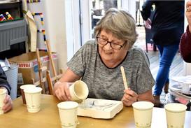 A workshop participant