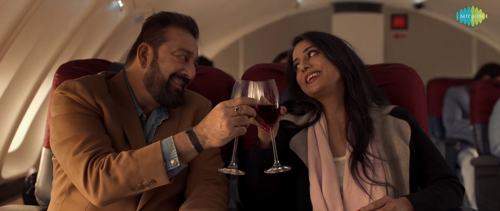 Sanjay Dutt and Mahie Gill