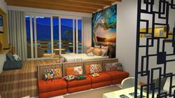 Dormitório praiano