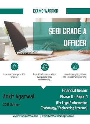 SEBI Grade A Officer - Financial Sector Phase II {Paper 1}