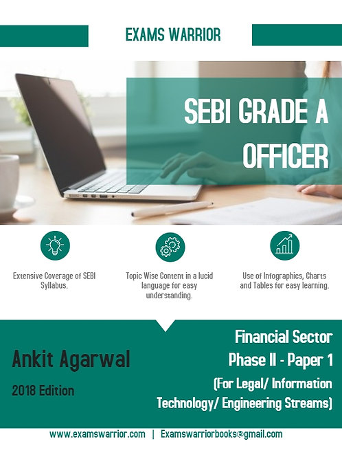 SEBI Grade A Officer - Financial Sector Phase II {Paper 1}