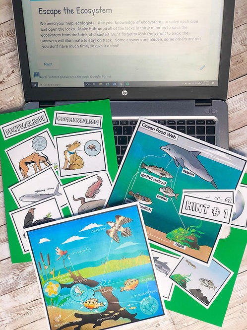 Escape the Ecosystem:  Digital and Non-Digital Versions Included