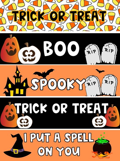 Halloween Themed Google Classroom Headers FREEBIE