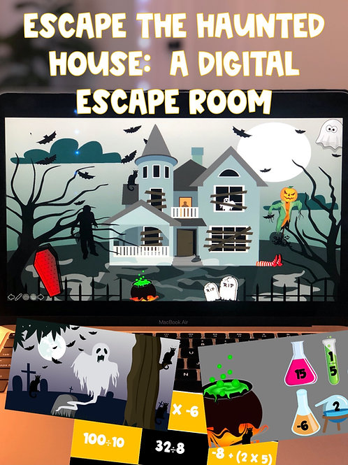 Escape the Haunted House: A 100% Digital Escape Room