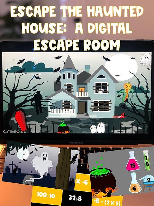 Escape the Haunted House: A 100% Digital Escape Room