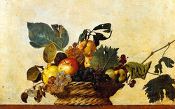 Корзина с фруктами Караваджо