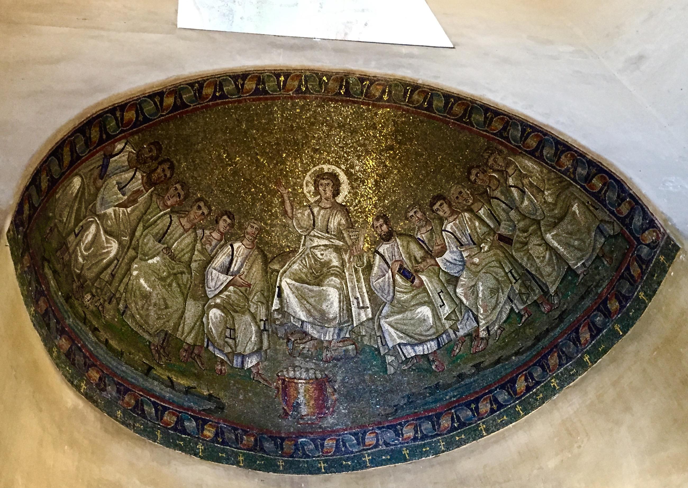 Отрок Иисус среди древних старцев