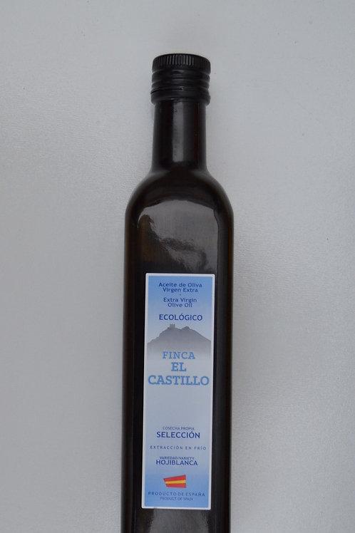 AOVE Ecológico Selección Hojiblanca botella vidrio  500cl.